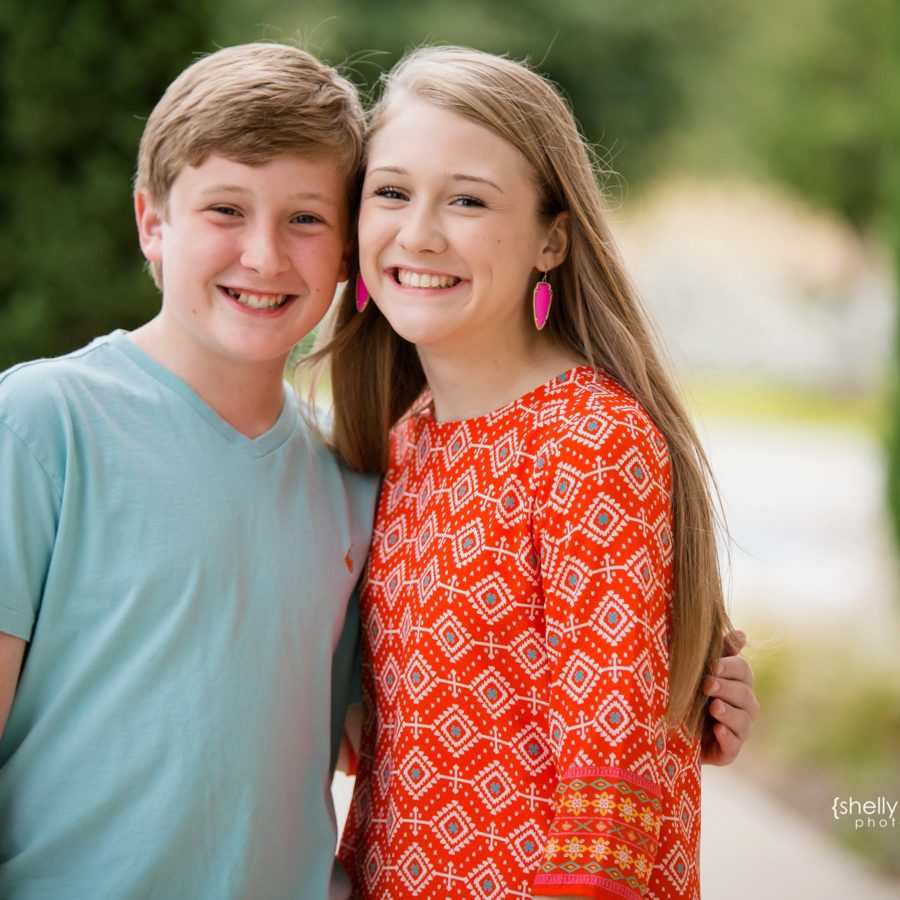 Teen Brother and Sister Session {Family Photographer| McKinney, TX}