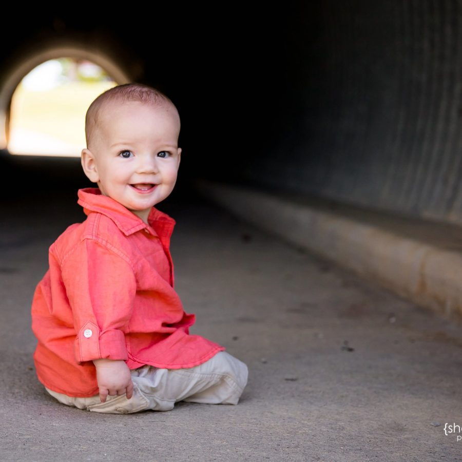 Baby Boy Turns One {Prosper Child Photographer}
