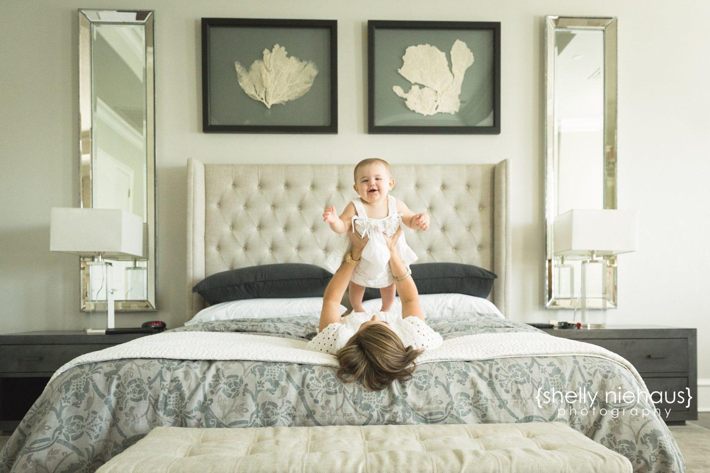 Little Sister Turns One - {Prosper Child Photographer}