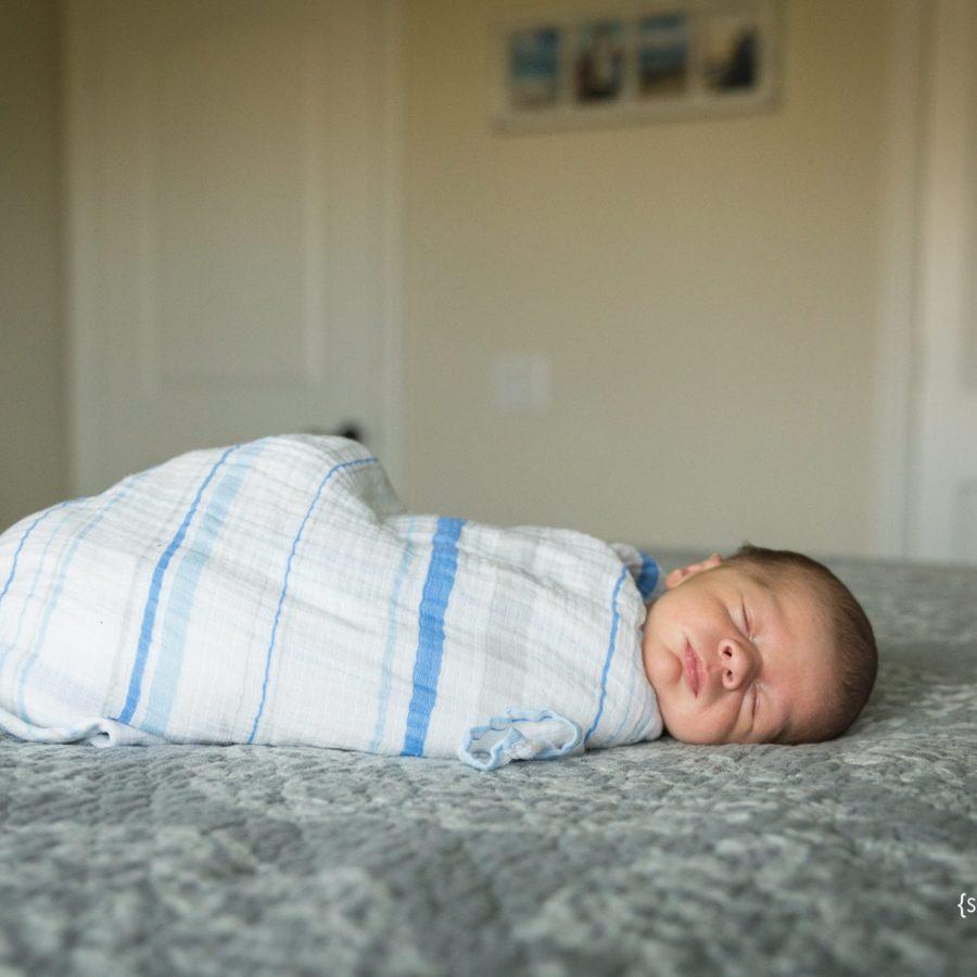 First Baby Boy 10 Days Old {Lifestyle Newborn Photographer McKinney, TX}