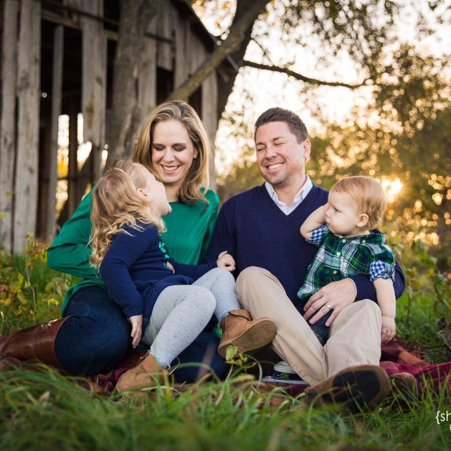 Beautiful Family of Four {Lifestyle Family Photographer|Prosper, TX}