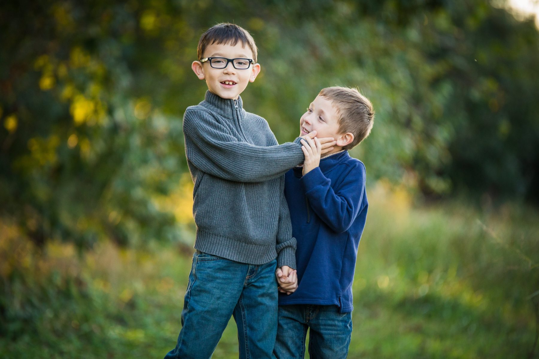 Little brothers laughing {Family Photographer| Allen, TX}