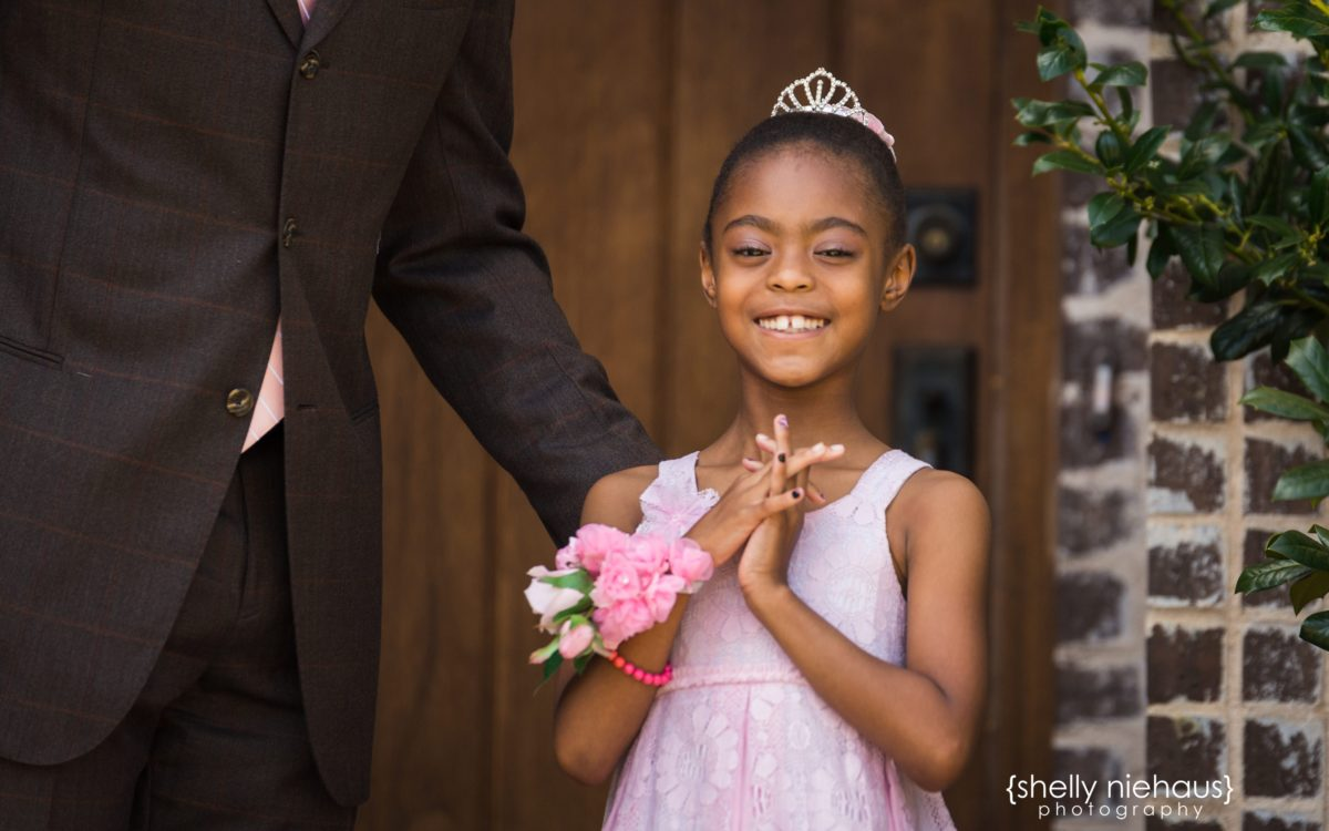 Daddy + Daughter Dance Portraits {Prosper Child Photographer}