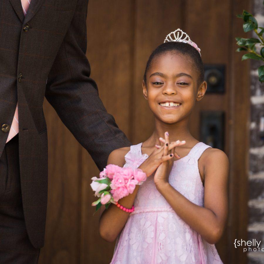 Daddy + Daughter Dance Portraits {Prosper Child Photographer}