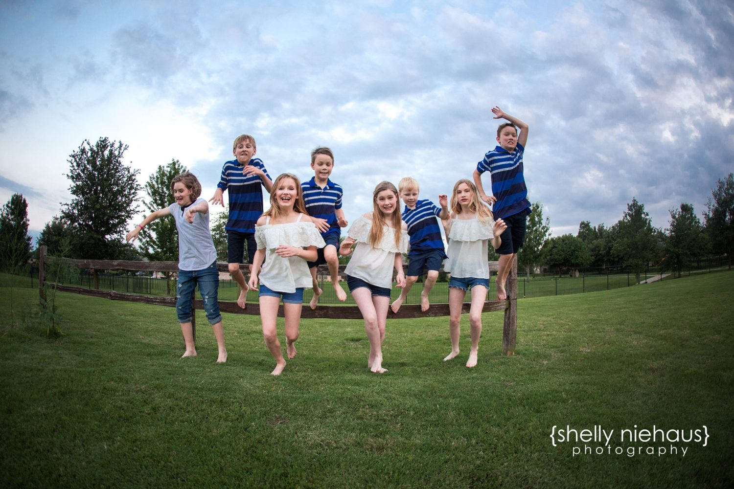 Joyful Family Memories | Eight Children {Child Photographer| Prosper, TX}