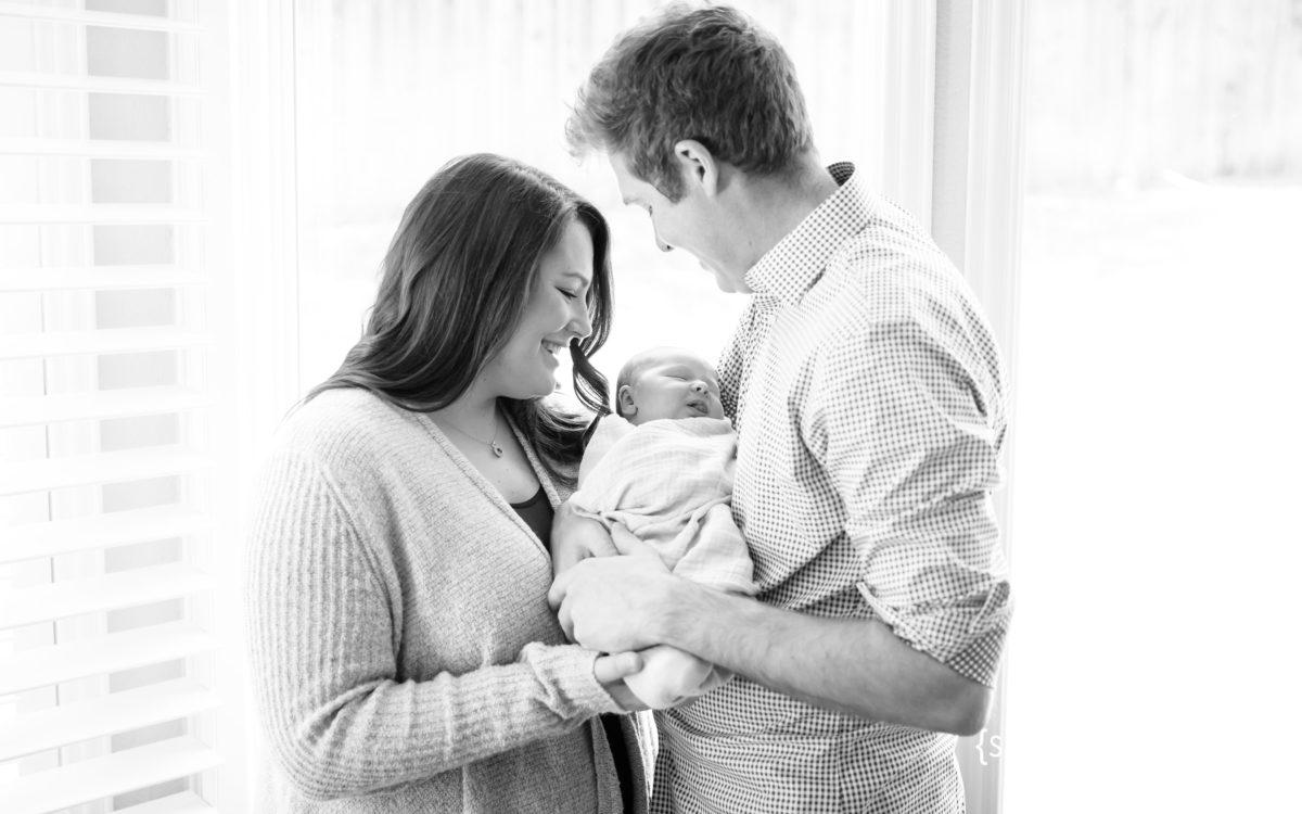 First Baby Boy Eight Days Old {Lifestyle Newborn Photographer|Prosper, TX}