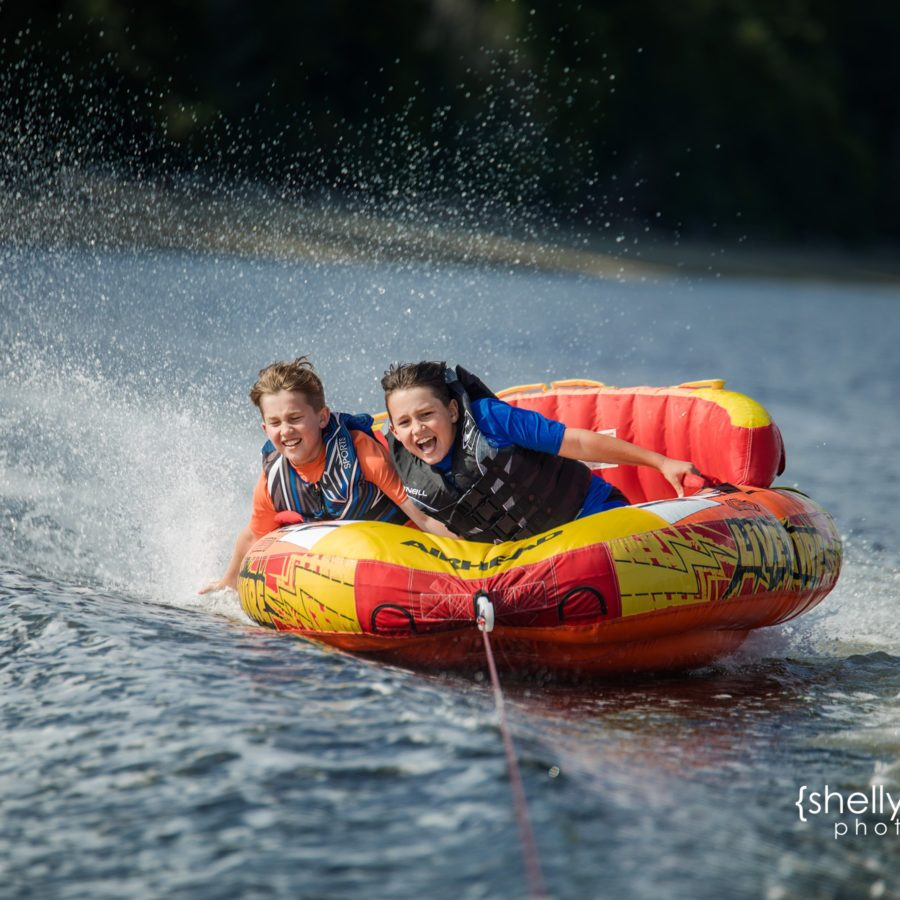 Shelly Niehaus Photography| Dallas Family Photography| Boys on Water Tube