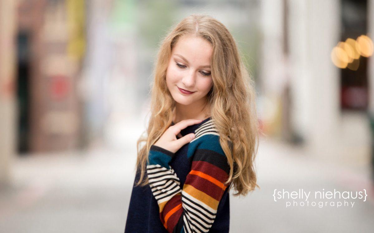Shelly Niehaus Photography| Dallas Senior Photographer| Teen Girl Downtown McKinney| Dallas Senior Photographer