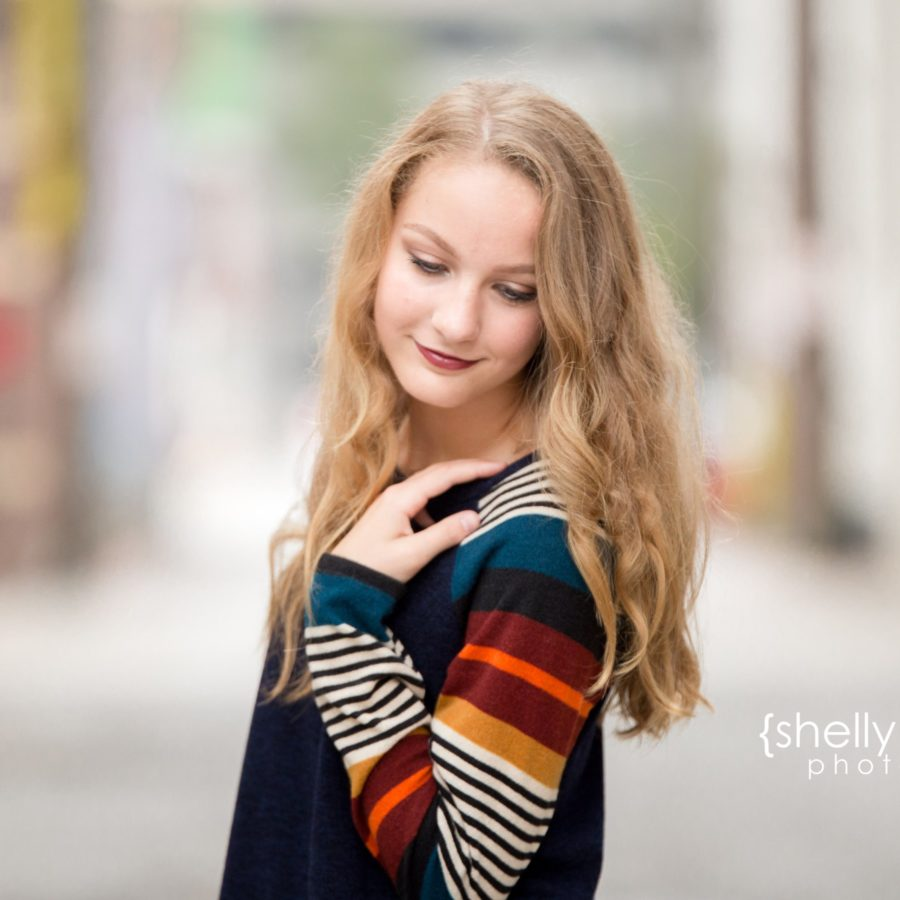 Shelly Niehaus Photography| Dallas Senior Photographer| Teen Girl Downtown McKinney| Dallas Senior Photographer